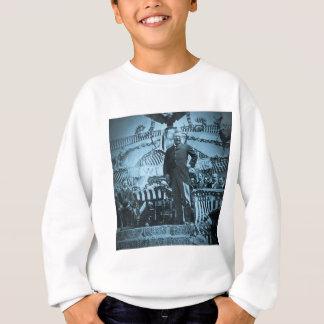 Presidente Theodore Roosevelt que habla en Wyoming Camisas