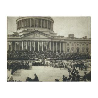 Presidente Theodore Roosevelt que toma juramento d Impresiones En Lienzo Estiradas