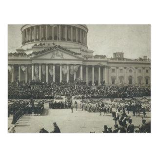 Presidente Theodore Roosevelt que toma juramento d Postal