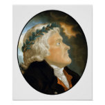 Presidente Thomas Jefferson Poster
