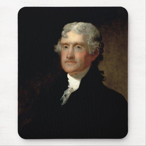 Presidente Thomas Jefferson Tapete De Ratón
