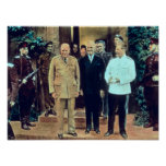 Presidente Truman y Joseph Stalin Póster
