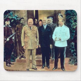 Presidente Truman y Joseph Stalin Alfombrilla De Ratón