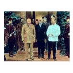 Presidente Truman y Joseph Stalin Tarjetas Postales