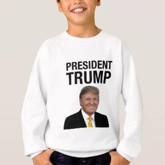 Presidente Trump Sudadera