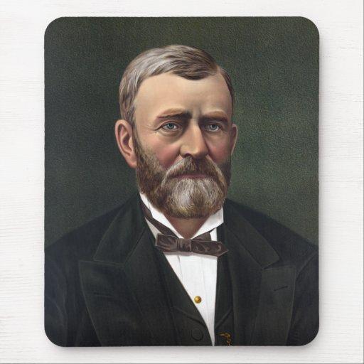 Presidente Ulises S. Grant -- Historia americana Tapete De Ratones