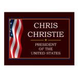 Presidente V3 de Cristo Christie Postal