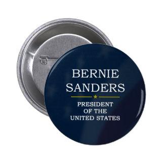 Presidente V3 de las chorreadoras de Bernie Pin Redondo De 2 Pulgadas