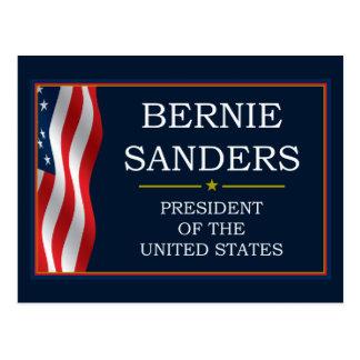 Presidente V3 de las chorreadoras de Bernie Tarjeta Postal