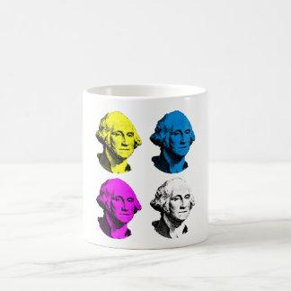 Presidente Washington -- Multi coloreada Taza
