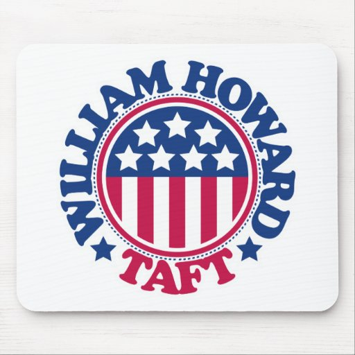 Presidente William Howard Taft de los E.E.U.U. Tapetes De Ratón