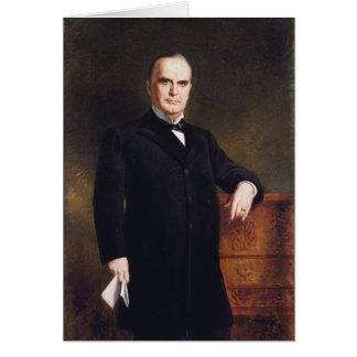Presidente William McKinley en agosto Benziger Tarjeta De Felicitación