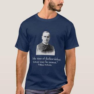 Presidente William McKinley y cita Playera