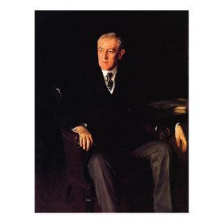 Presidente Woodrow Wilson de Sargent- del cantante Postal