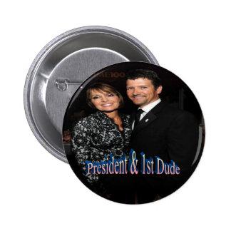 Presidente y 1r tipo - botón