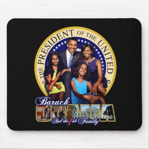 Presidente y 1ra familia alfombrillas de ratones