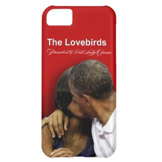 Presidente y primera señora Obama de los Lovebirds