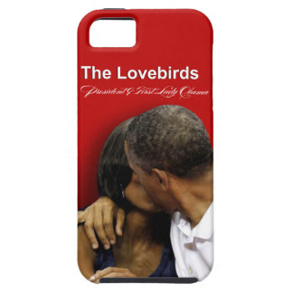 Presidente y primera señora Obama de los Lovebirds iPhone 5 Funda