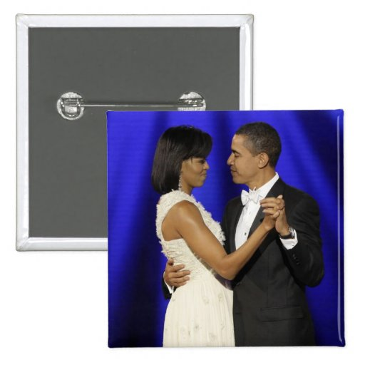 Presidente y primera señora Obama Inauguration Bal Pin