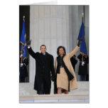 Presidente y señora Obama Felicitación