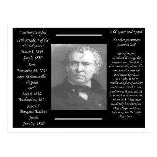 Presidente Zachary Taylor Postales