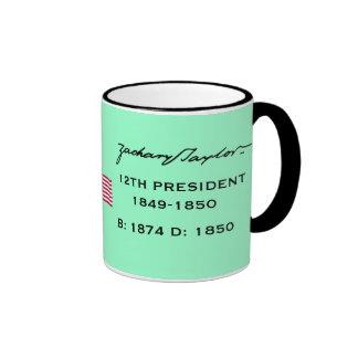 Presidente Zachary Taylor * taza de café
