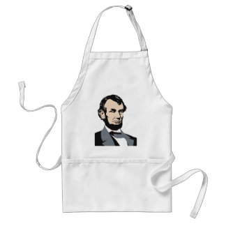Presidentes americanos: Abraham Lincoln 1861-1865 Delantal