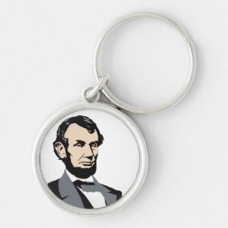 Presidentes americanos Abraham Lincoln 1861-1865 Llaveros Personalizados