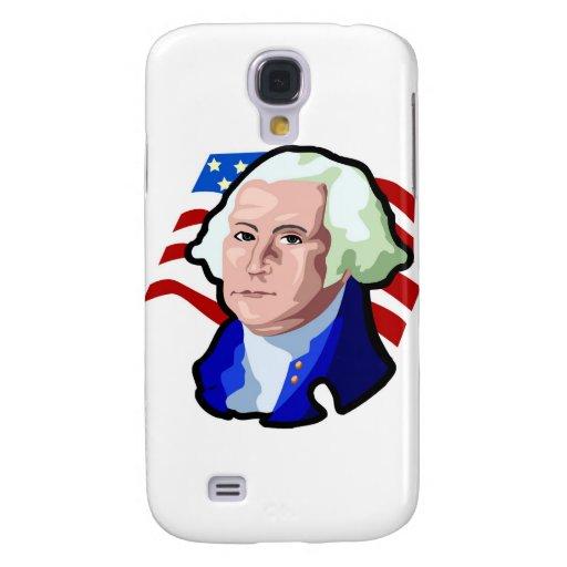 Presidentes Day, George Washington y bandera de lo