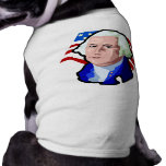 Presidentes Day, George Washington y bandera de lo Ropa De Perros