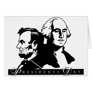 Presidentes Day Tarjeta De Felicitación