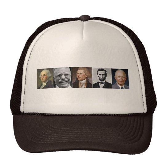 Presidentes de los E.E.U.U. Gorras De Camionero