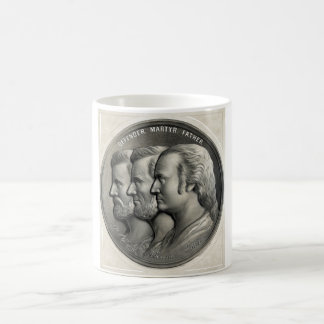 Presidentes Grant, Lincoln, y Washington Taza De Café
