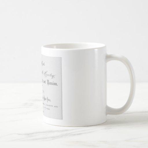 Presidential Banquest Admission Card Coffee Mug