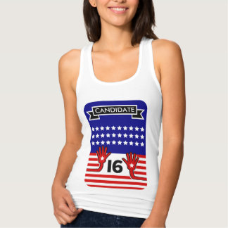 Presidential Candidate Supporters Customizable Tank Top