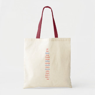 Presidential Candidates Look who's running Budget Tote Bag