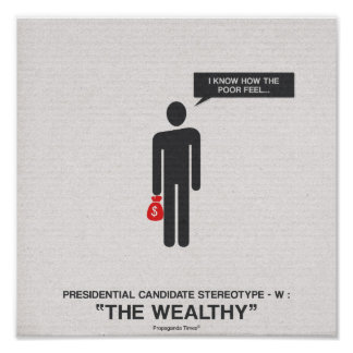 Presidential Candidates Stereotypes Print