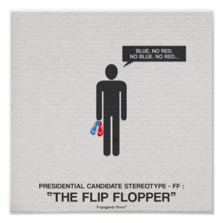 Presidential Candidates Stereotypes Poster
