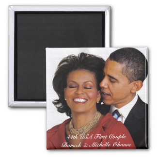 Presidential Commemorative Products 2 Inch Square Magnet