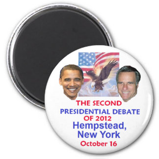 Presidential Debate 2 Inch Round Magnet