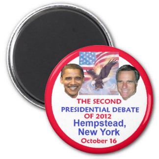 Presidential Debate 2 Inch Round Magnet