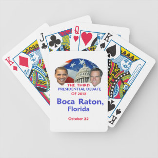 Presidential Debate Bicycle Playing Cards