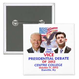 Presidential Debate Pins