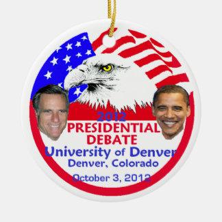 Presidential Debate Ceramic Ornament