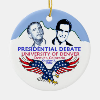 Presidential Debate Ceramic Ornament