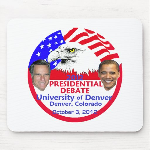 Presidential Debate Mouse Pads