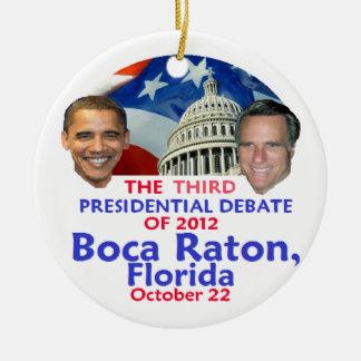 Presidential Debate Christmas Tree Ornament
