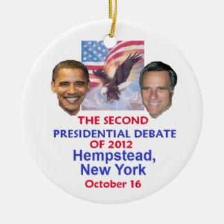 Presidential Debate Ornaments
