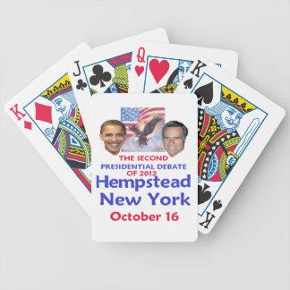 Presidential Debate Playing Cards