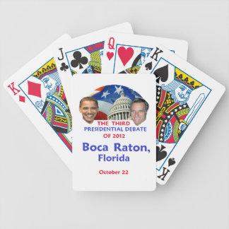 Presidential Debate Bicycle Card Deck